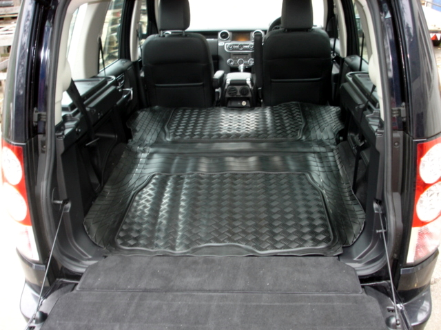 Boot Liner Mat Pair Land Rover Discovery 4 Load Space 2010 ON
